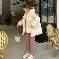 Winter Fashion Loose Winter Cotton Overcoat Down Jacket Cotton-Padded Clothes Women's Short Style Cotton-Padded Jacket clothes