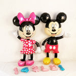 112cm Giant Mickey Minnie Mouse Balloon Cartoon Foil Birthday Party Balloon Kids Baby shower Party Decorations Toys Gift