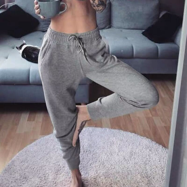 Women's Sweat Pants Women Cotton Loose Trousers Men Plus Size High Waist Joggers Pants Hip Hop Bottoms Casual Sweatpants Femme