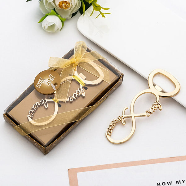 Souvenir Wedding Gifts Personalized Beer Opener Musical Note Openner With Exquisite Box Alloy Presents For Party Guest