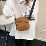 2020 Fashion Original Wool Ladies Shoulder Bags Phone Pouch Classic Style Casual Solid Color Messenger Bag Women Shopping Tote