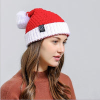 2020 High Quality Woollen Hat Christmas Hats For Adult Xmas Caps Chiristmas Party Supplies Hat Christmas Decorations kniting hat