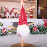 Christmas decoration faceless doll pendants doll pendant Christmas decoration 2020 new products