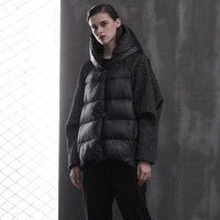 Women's Down Coat Short Duck Down Puffer Jacket 2020 New Loose Winter Female Parkas Snow Outwear Oversize Short Black Coats