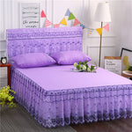 1 Pc Lace Bed Skirt Bedding Set Princess Bedding Bedspreads Sheet Bed For Girl Bed Cover King/Queen Size