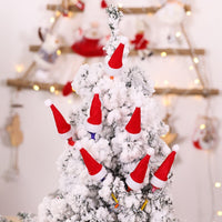 10/30pcs Mini Candy Christmas Hat Lollipop Topper Cover Hat New Year Festival Party Decoration Cute Children Gift Kawaii