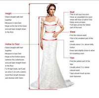 V-neck Long A-line Sparkle Wedding Dresses , modest prom dress cg484