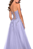Purple Prom Dress,Tulle Prom Gown,Sweetheart Evening Dress,A-Line Prom Gown    cg10034
