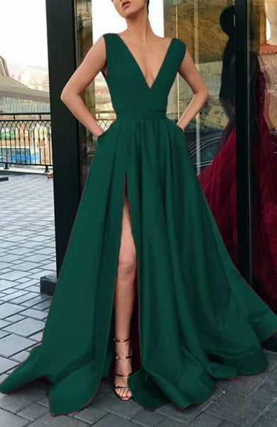 green prom dresses,green prom dresses,sexy prom dresses,satin evening gowns  cg10050