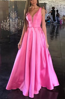 simply elegant pink prom dress   cg10157