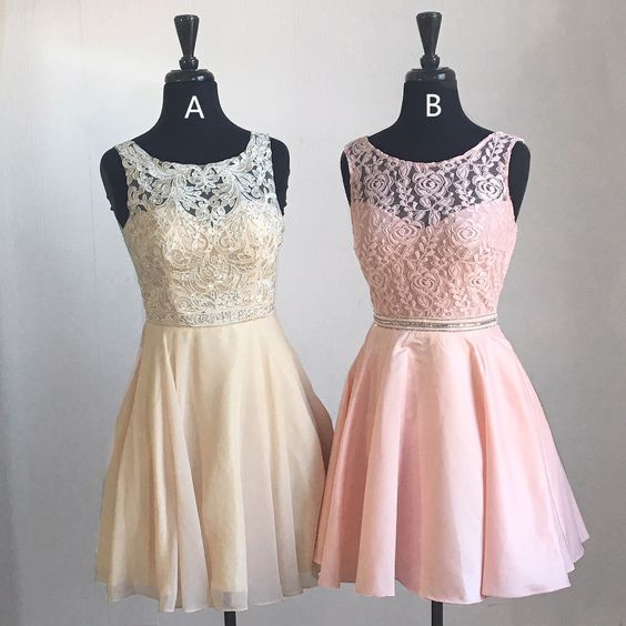 Short Homecoming Dresses, Pink Hoco Dress, Yellow Hoco Dress   cg10300