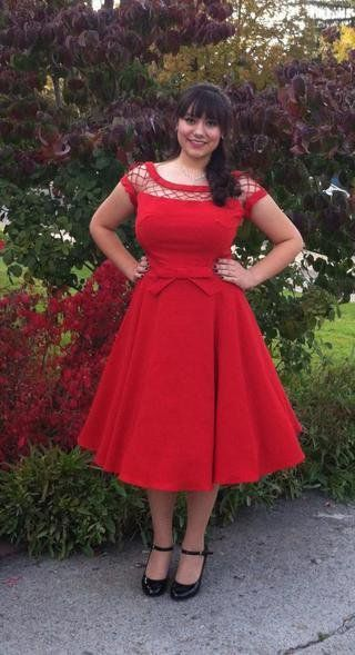 Red Short Homecoming Dress   cg10331