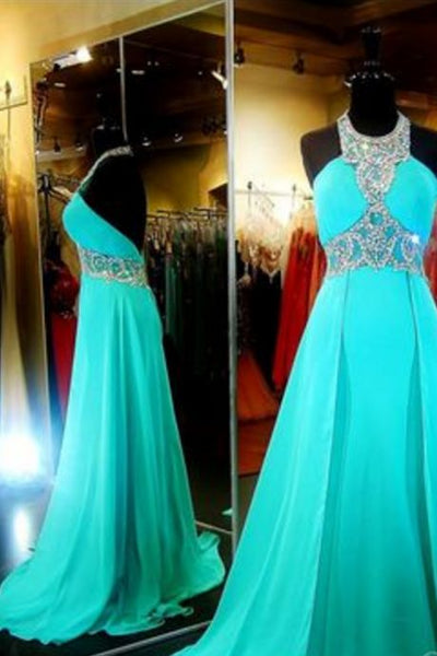 New Arrival Luxury Blue Prom Dress,Long Prom Dress,Evening Dress,blue Evening Gown   cg10922