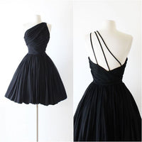 Black short Homecoming Dress   cg11906