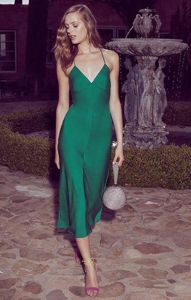 Green prom dress ,fashion prom gown cg1200