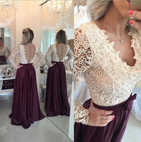 Wine Red Prom Dresses,Charming Evening Dress   cg12082