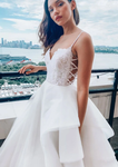 White sweetheart tulle lace long prom dress tulle formal dress   cg13262