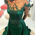 Lace Prom Dress,ApplIques Prom Dress Custom Special Occasion Evening Gowns and Formal Dresses   cg13383