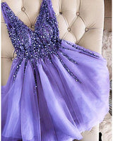 tulle applique short homecoming dress,  homecoming dress cg1381