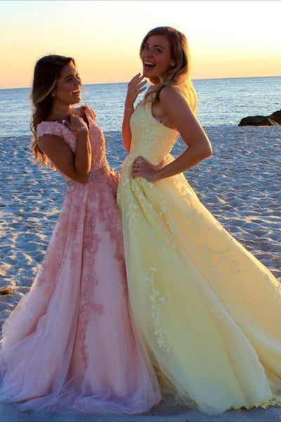 Princess Lace Prom Dress   cg14588