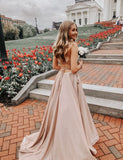 Champagne Prom Dresses,Long Prom Dresses,Prom Dresses,Evening Dress Prom Gowns   cg14590