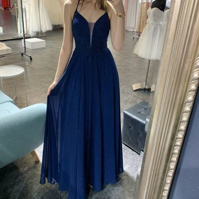 Newest Spaghetti Straps A-Line Prom Dresses, Evening Dress Prom Gowns, Formal Women Dress,Prom Dress    cg14681