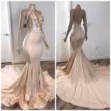 Black Girl Prom Dresses Backless Champagne Pink Cheap Prom Dresses with Appliques   cg14705