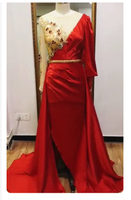 Unique Prom Dress , Red Prom Dress   cg14747