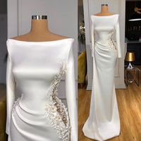 White Evening Dress, Sexy Formal Dresses, Mermaid Evening Dresses prom dress   cg14814