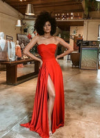 Red party dress prom dress sexy evening dress   cg14849
