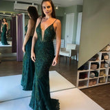 Mermaid Long Prom Dress V Neck Strapless Formal Evening Dresses Party Gowns    cg14915