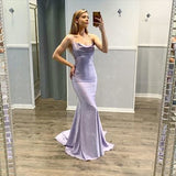 Sexy Mermaid Spaghetti Straps Long Prom/Evening Party Dress   cg14964