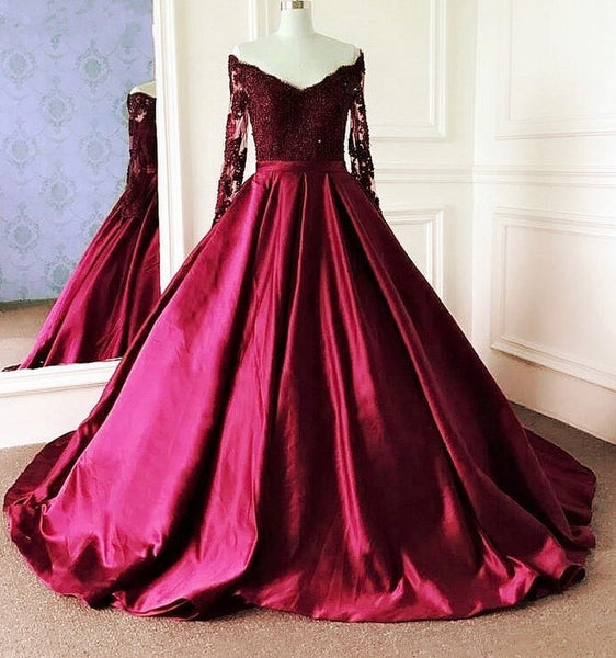 ball gown lace long prom dress evening dress    cg14969