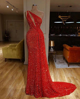 red long Evening prom Dress   cg15105