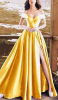 long satin prom dress   cg15152