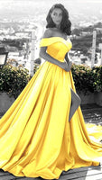 long satin prom dress   cg15153