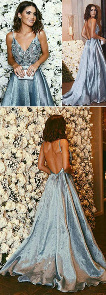 Pretty Quinceanera Dresses, Ball Gowns Prom Dresses, Blue Prom Dresses   cg15339