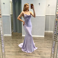 Sexy Mermaid Spaghetti Straps Long Prom/Evening Party Dress   cg15487