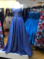 navy blue Prom Dress Women Dresses   cg15650