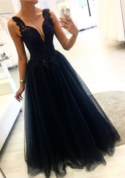 black Prom Dresses evening gown   cg15782