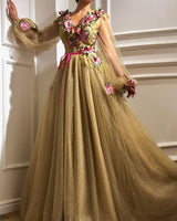 Evening Prom Dresses with Long Sleeves    cg15787