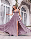 simple prom dresses Dusty Mauve Bridesmaid Dresses    cg16911