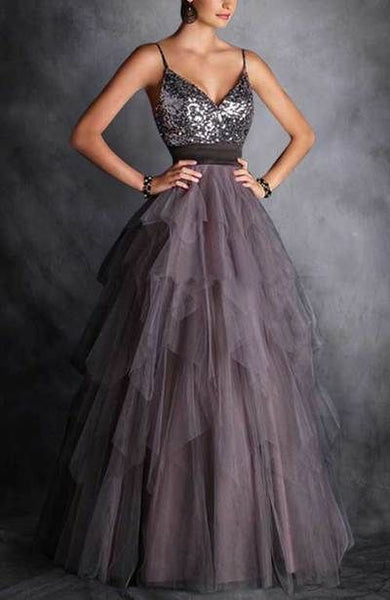 New Style Spaghetti Straps Prom Dress cg1703