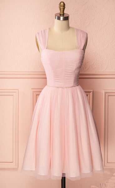 Short Pink Dress Homecoming Dress cg1724