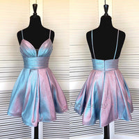 Princess Straps Short Homecoming Dress 2019  cg1798