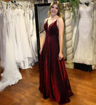 Burgundy Prom Dress,Evening Dress,Prom Dresses   cg17994