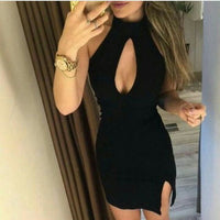 Short sexy black Homecoming Dress   cg18236