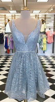 sparkle short blue homecoming dress, back to school dress cg1837