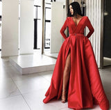 red prom dress   cg18663