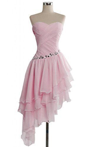 Pink Dress,Chiffon homecoming Dress,Cheap homecoming  Dress,Party Dresses cg1883
